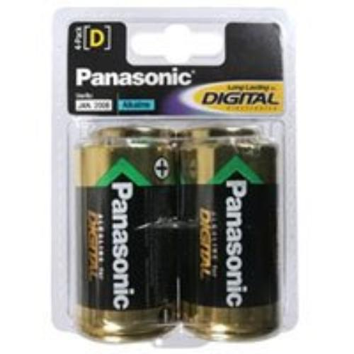 Panasonic AM1PA/4B Alkaline D-4pack [am1pa/4b]