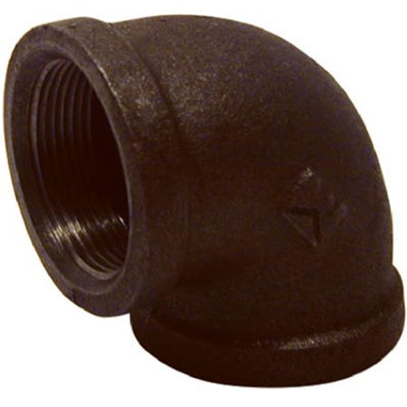 Pannext Fittings B-L9020 Black 90 Degree Equal Elbow - 2 in. - image 1 of 1