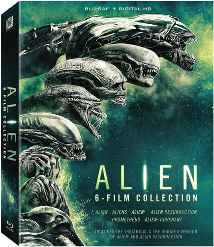 Alien 6-Film Collection (Blu-ray) by TWENTIETH CENTURY FOX