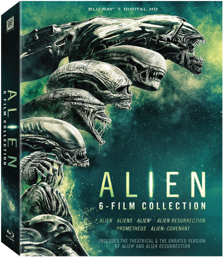 Alien 6-Film Collection (Blu-ray) (VUDU Instawatch Included)
