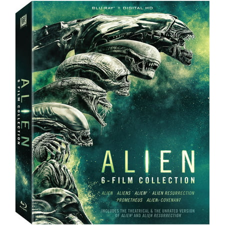Alien 6-Film Collection (Blu-ray) - Halo Aliens