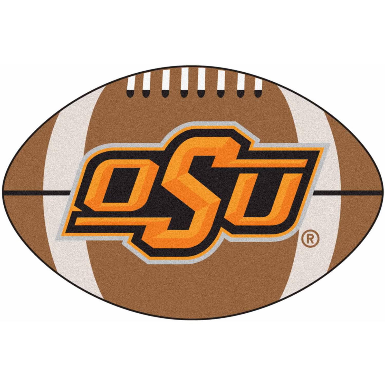 """Oklahoma State Football Rug 20.5""""x32.5"""""""