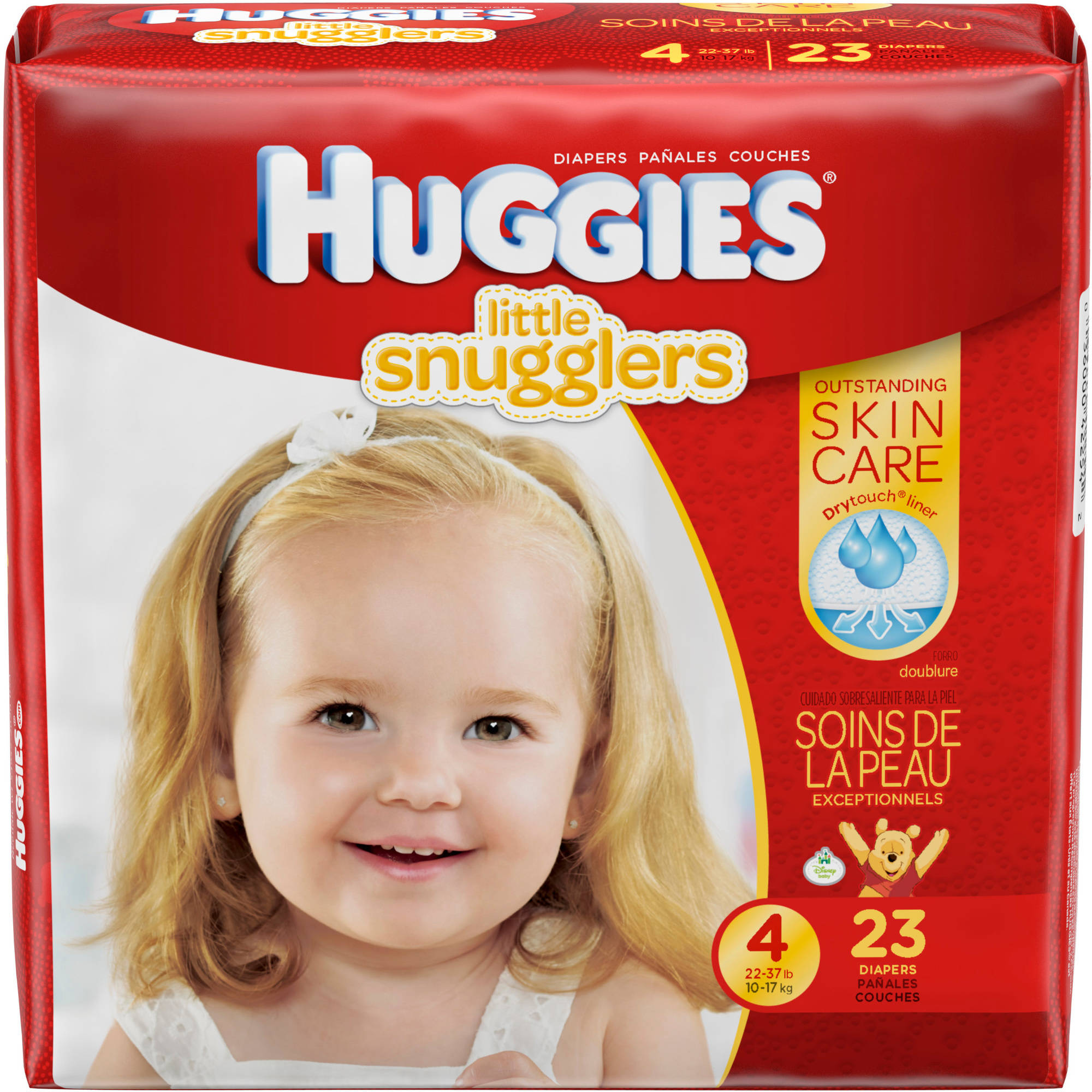 HUGGIES Little Snugglers Diapers, Multipack, (Choose Your Size)