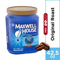 Maxwell House Original Roast Ground Coffee, 42.5 oz Canister