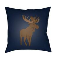 Surya Moose Outdoor Pillow