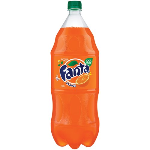 Fanta Orange Soda, 2 l