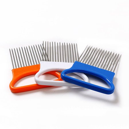 3 Pack Vegetable Fruit Beef Onion Slicer Cutting Holder Slicing Cutter Stainless Steel Meat Needle - High Carbon Steel Beef