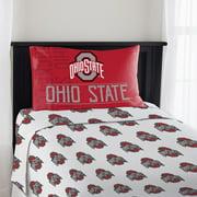 NCAA Ohio State Twin Sheet Set