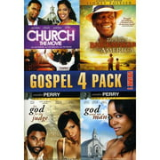 Gospel 4 Pack, Vol. 1 - Church: The Movie / The Last Brickmaker In America / Let God Be The Judge / God Send Me A Man (Widescreen)