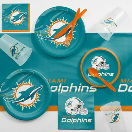 Miami Dolphins Game Day Party Supplies Kit](Halloween Parties 2017 Miami)