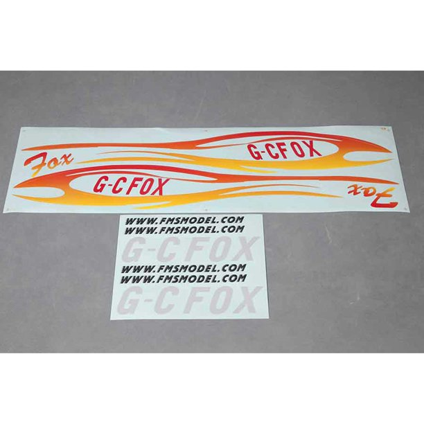 Fms Decal Sheet Fox 2300mm V2 Fmmmt304 Walmart Com Walmart Com