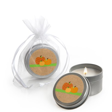 Pumpkin Patch - Fall & Halloween Party Candle Tin Party Favors (Set of 12)](Halloween Fall Festival Games)