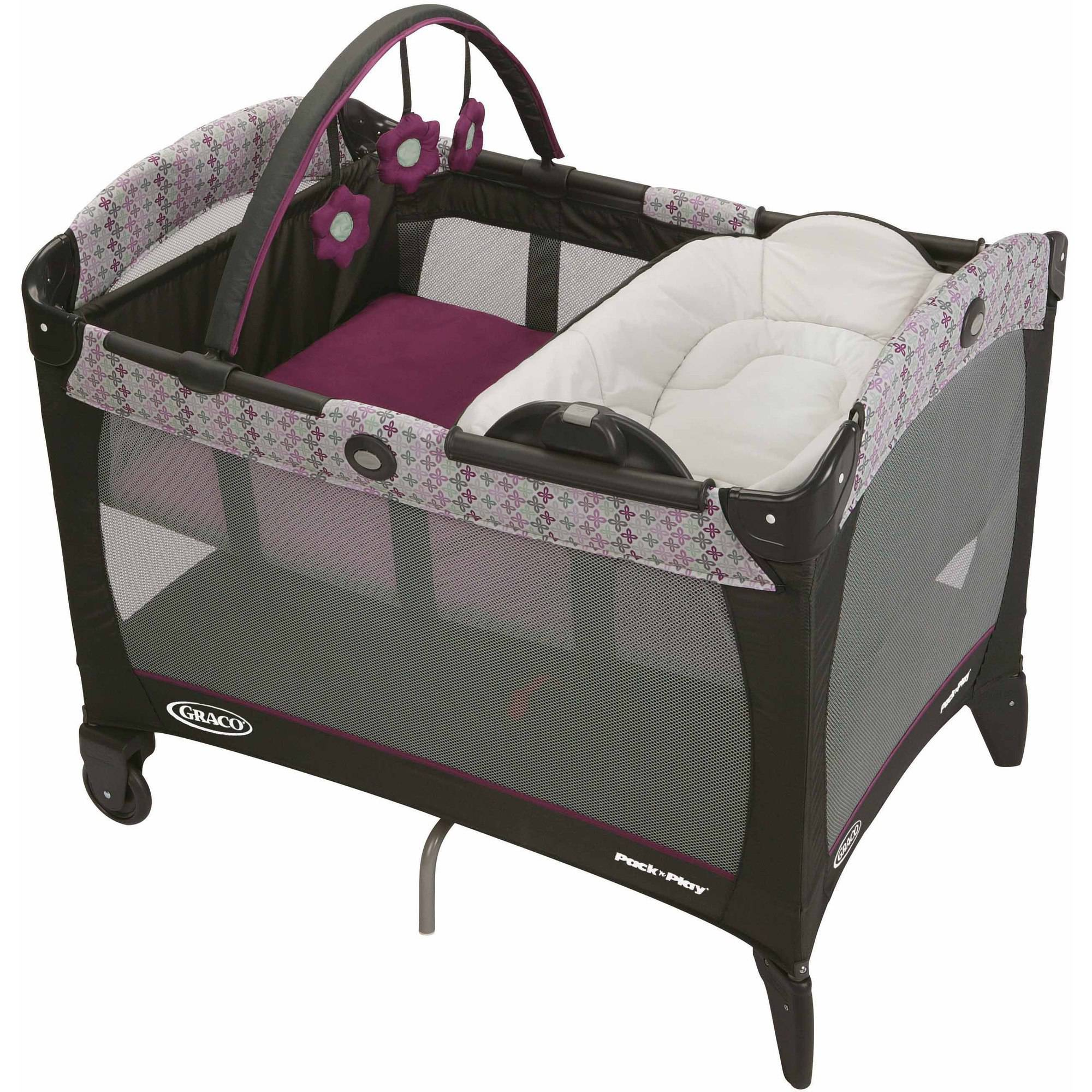 Graco Pack 'N Play Playard with Reversible Napper and Changer, Nyssa