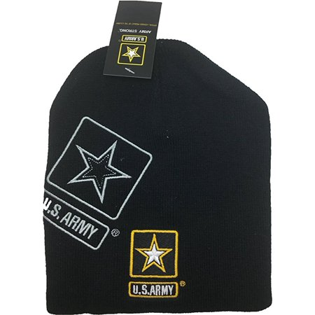 Manchester United Beanie - U.S. US United States Army Men's Cuffless Knit Beanie Hat Officially Licensed