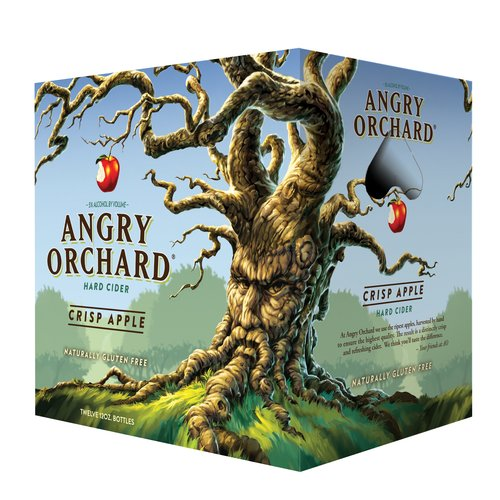 Angry Orchard Crisp Apple Hard Cider, 12 pack, 12 fl oz