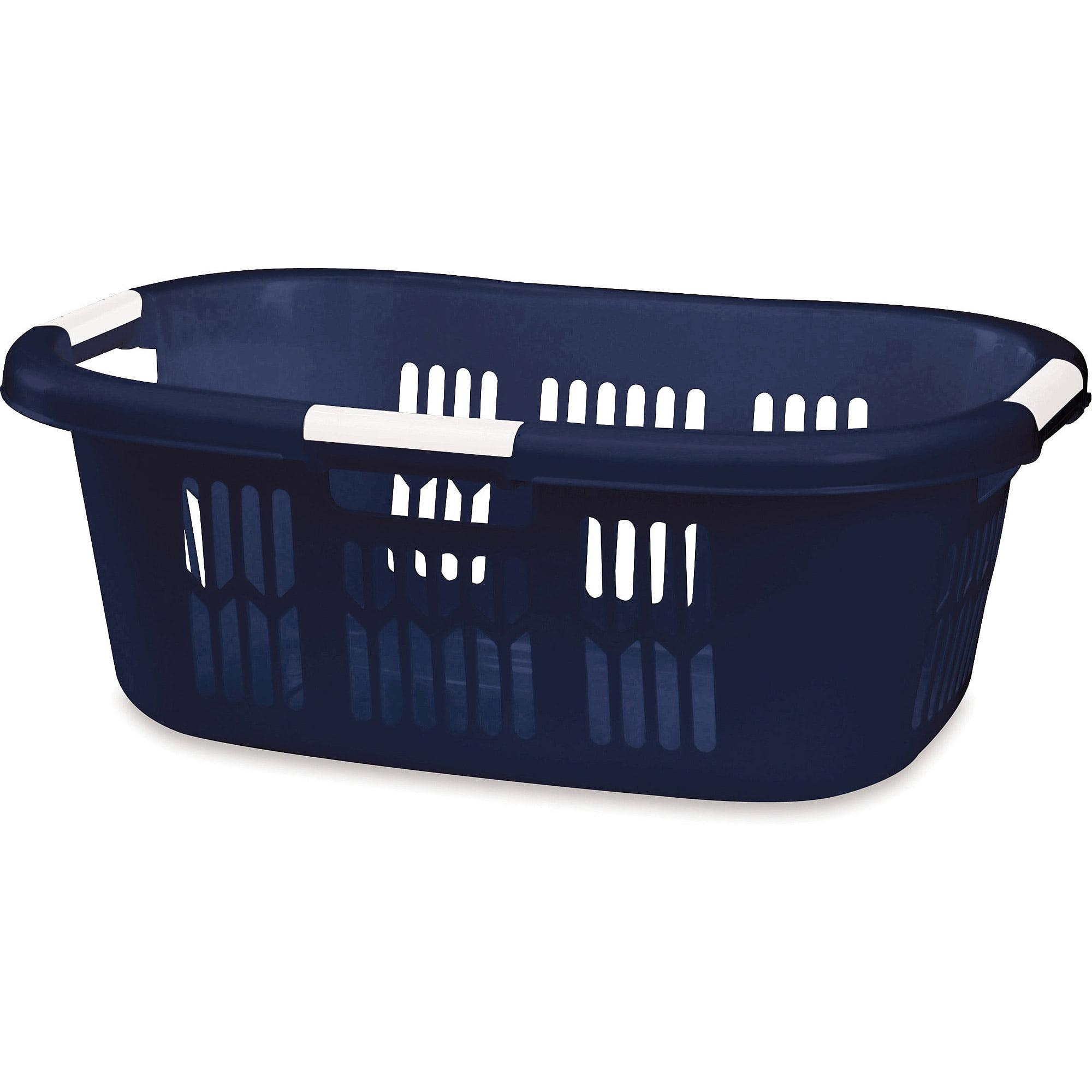 Rubbermaid 1.5 BU Hip-Hugger Laundry Basket