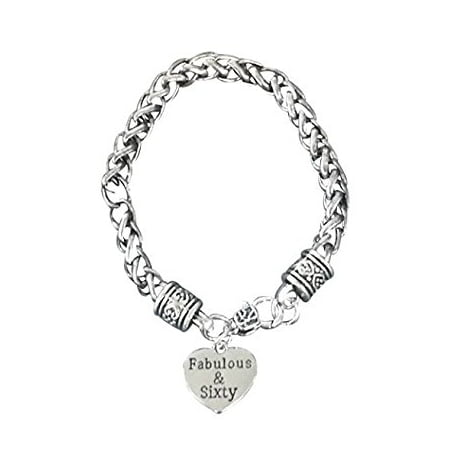 60th Birthday Gifts for Women, 60th Birthday Charm Bracelet, Perfect 60th Birthday Gift Ideas](Rave Bracelet Ideas)