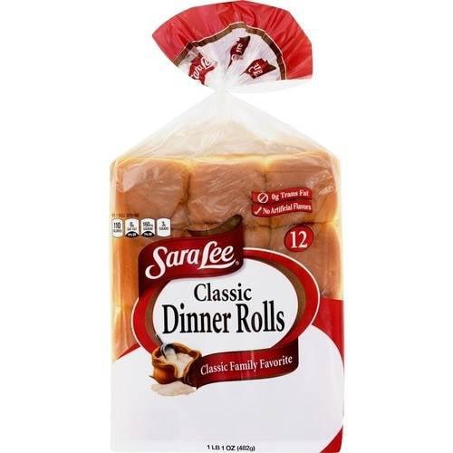 Sara Lee Classic Dinner Rolls, 12 ct, 17 oz