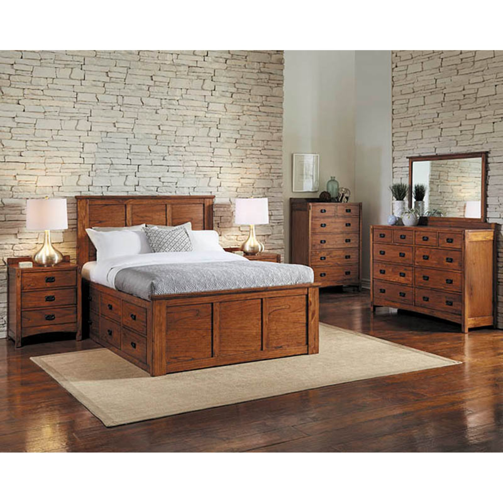 Charmant A America Mission Hills Storage Bed