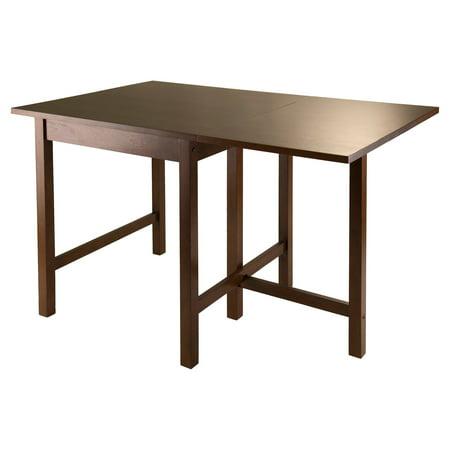 Lynden Drop-Leaf Dining Table, Antique Walnut - Walmart.com