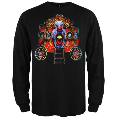 Kiss - Circus Wagon Long Sleeve T-Shirt (Old Crow Medicine Show Wagon Wheel T Shirt)