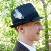 ZUCKER Hackle-Pheasant Hat Trim - Ivory - Natural
