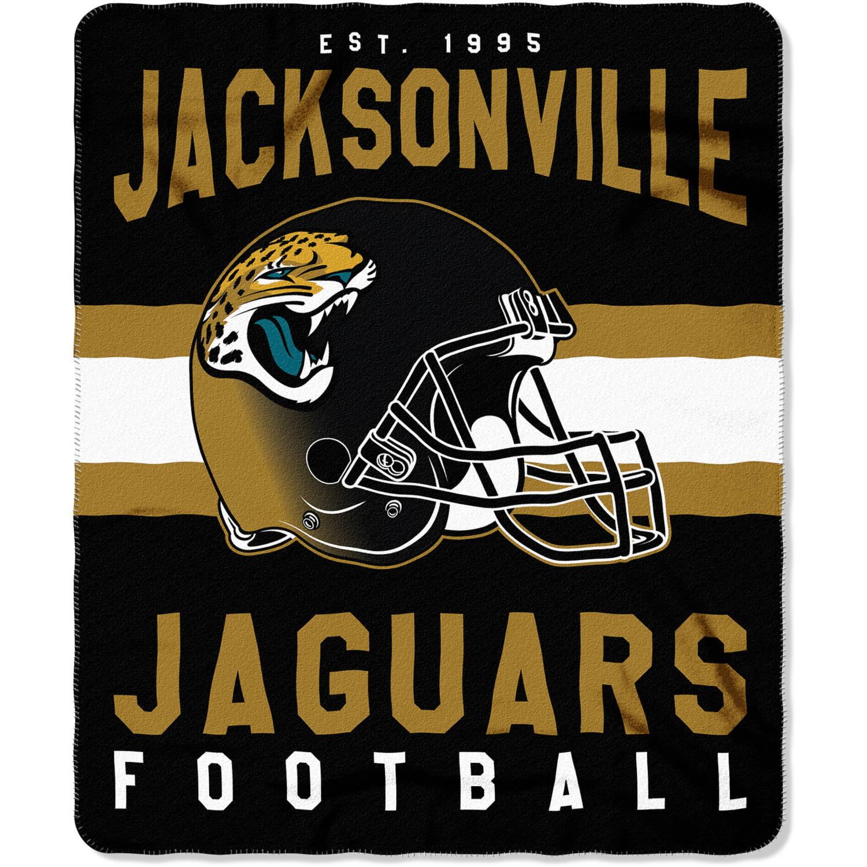 "NFL Jacksonville Jaguars ""Singular"" 50"" x 60"" Fleece Throw"
