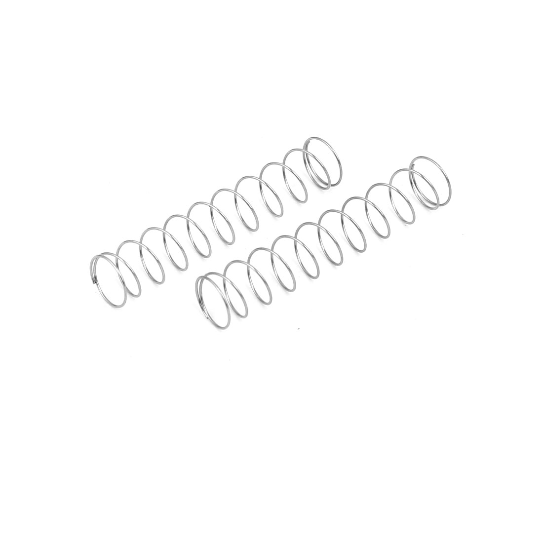 0.3mmx6mmx30mm 304 Stainless Steel Compression Springs 10pcs - image 2 of 3