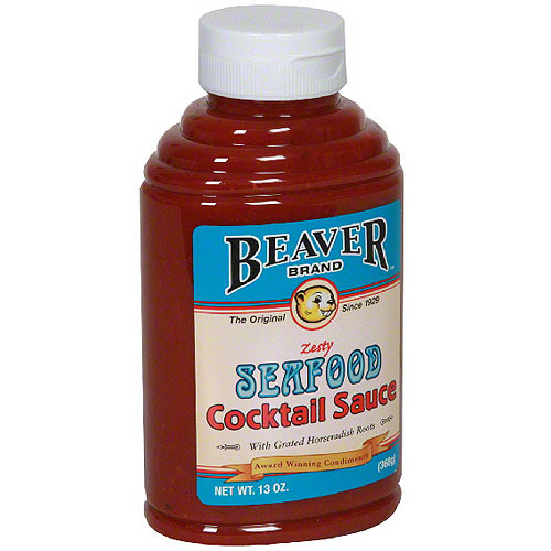 Beaver Brand Horseradish Seafood Cocktail Sauce, 13 oz (Pack of 6)