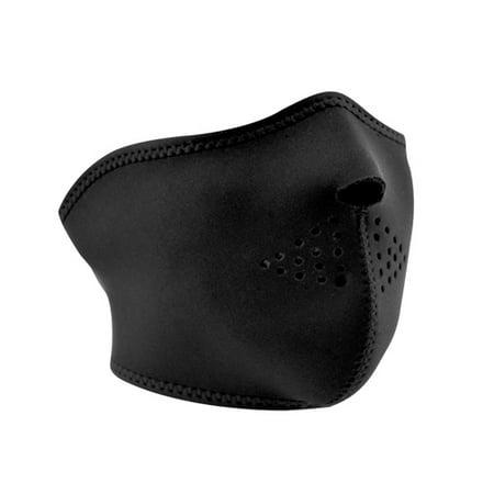 Zan Headgear Half Mask Neoprene Black WNFM114H
