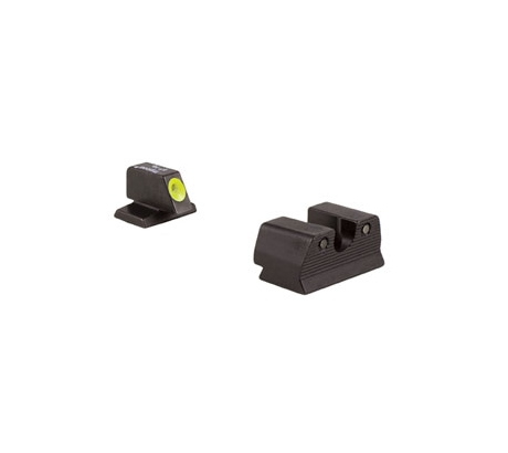 Trijicon HD XR Night Sight Set, Yellow Front Outline for FNH FNS-9, FNX-9, and F by Trijicon