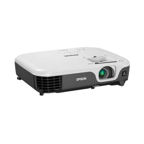 Epson VS220 SVGA 3LCD Projector - 2700  lumens color brightness, 2700 Lumens Whi