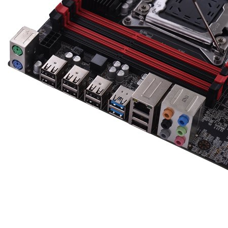X79Z-V161 Motherboard EATX ECC LGA2011 SATA 3.0 USB 3.0 Ports Motherboard DDR3 128GB Memory Capacity for 2018 Intel Computer - image 5 de 7