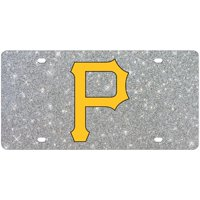 Pittsburgh Pirates WinCraft Acrylic Glitter License Plate