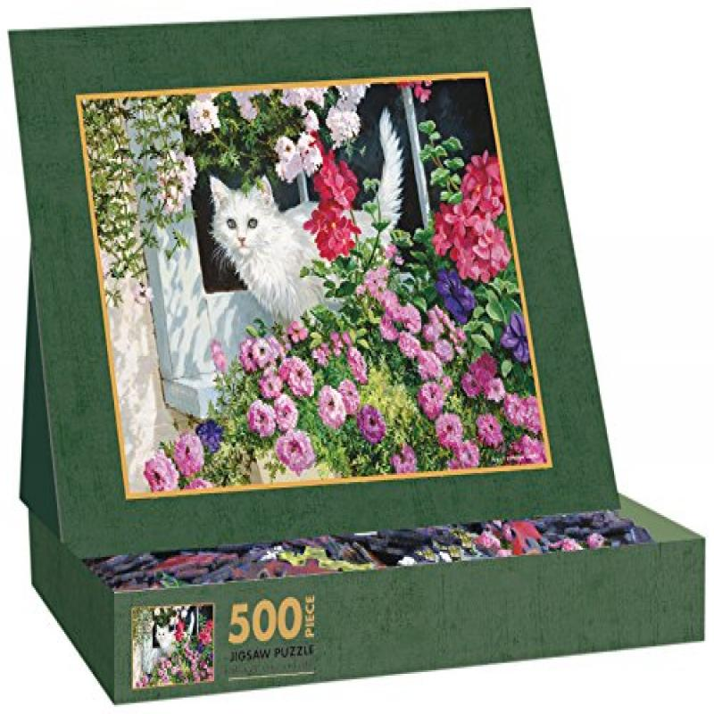 Lang Summer Window by Persis Clayton Weirs Jigsaw Puzzle (500-Piece) by