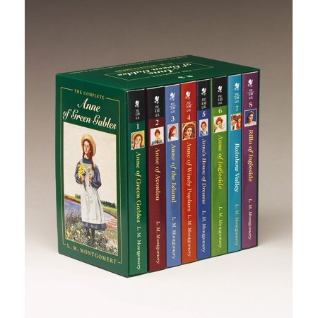 Anne of Green Gables, Complete 8-Book Box Set : Anne of Green Gables; Anne of the Island; Anne of Avonlea; Anne of Windy Poplar; Anne's House of Dreams; Anne of Ingleside; Rainbow Valley; Rilla of Ingleside](Reading Rainbow Halloween Books)