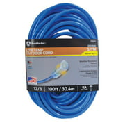 Coldflex 2569SW0006 12/3 Heavy-Duty 15-Amp SJTW Cold Weather Extension Cord, 100-Feet