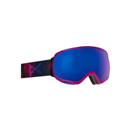 Anon Goggle Lenses - Anon Women's Tempest Goggle Digi Tiki Frame Blue Cobalt Lens