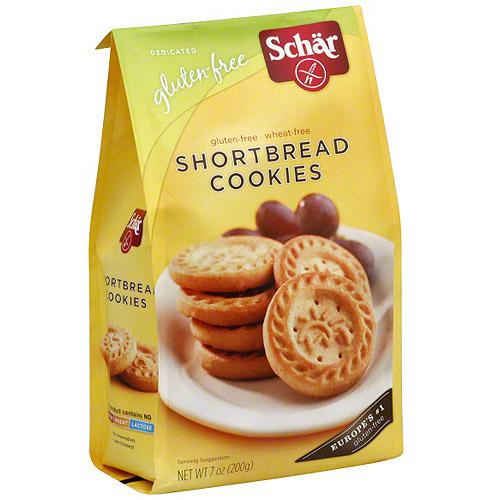 Schar Gluten Free Shortbread Cookies, 7 oz (Pack of 12)