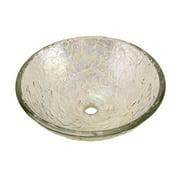JSG Oceana 005-00 Glass Bathroom Vessel Sink