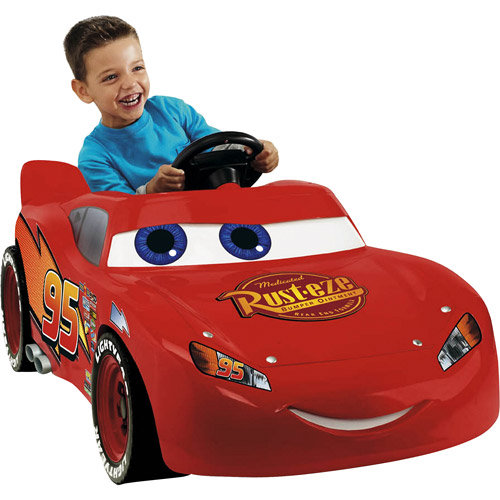 Fisher-Price Power Wheels Lightning McQueen 6-Volt Battery-Powered Ride-On