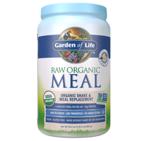 Garden of Life Raw Organic Meal Vanilla 34.2oz (2lb 2oz / 969g) Powder