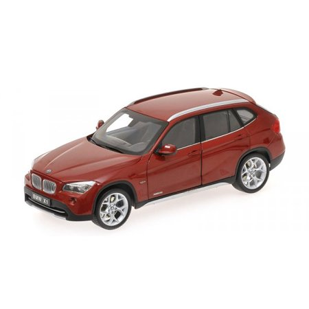 BMW X1 xDrive 28i (E84) Vermillion Red 1/18 Diecast Car Model by Kyosho