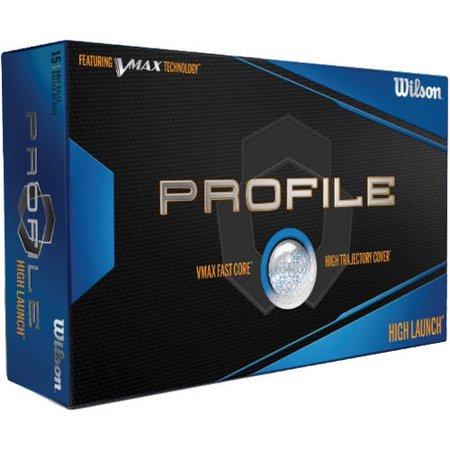 Wilson Profile VMax Golf Balls (15 Pack)