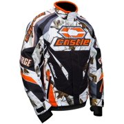 Castle X Racewear Charge Realtree G2 Mens Snowmobile Jacket Realtree Snow