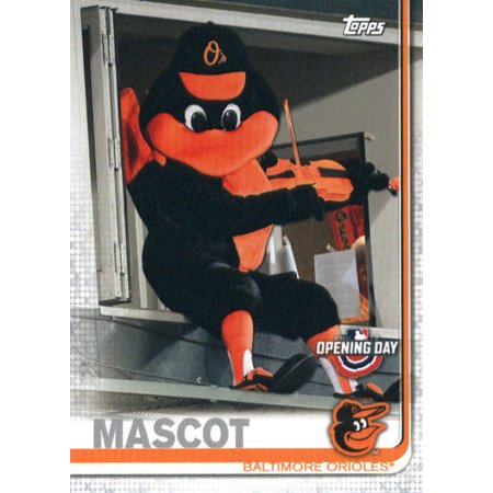 2019 Topps Opening Day Mascots #M-24 The Oriole Bird Baltimore Orioles Baseball Card