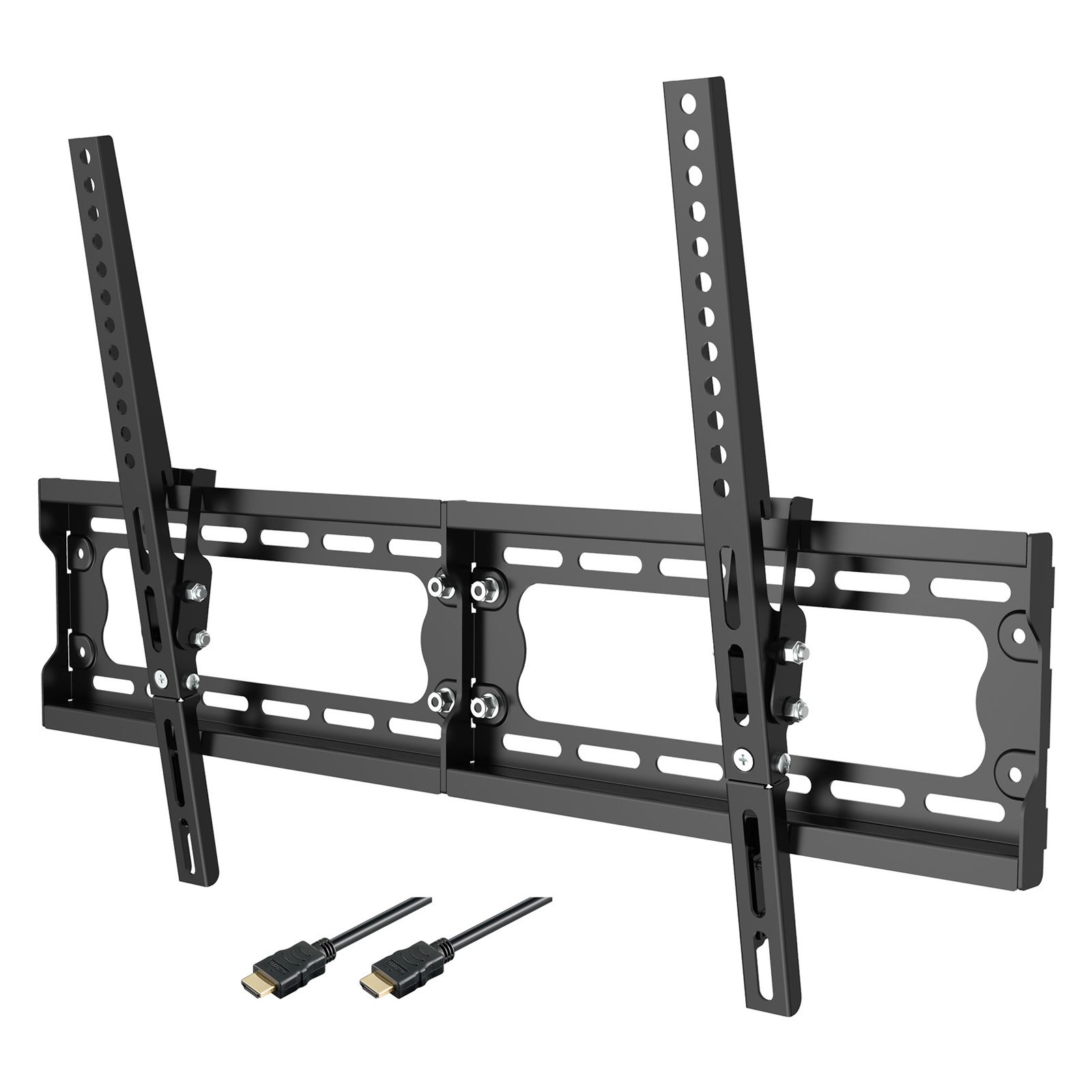 Loctek F7M Low Profile fixed LED TV Bracket Mount Bracket for 32 -80 Inch LCD LED TV with VESA 600x400