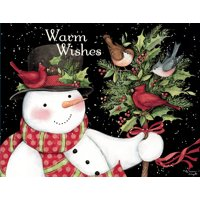 LANG SNOWMAN AND FRIENDS BOXED CHRISTMAS CARDS
