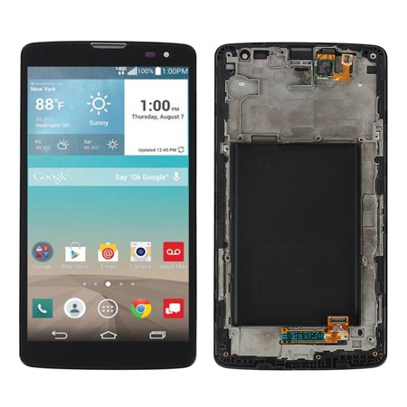 Black Lcd Touch Screen Digitizer Assembly   Frame For Lg G Vista D631 Vs880