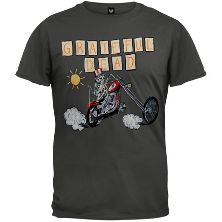 Grateful Dead - Uncle Sam Chopper Soft T-Shirt - Grateful Dead Halloween T Shirt